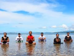 Yoga di Pantai