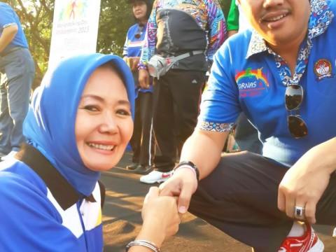 Bersama Menteri Pemuda & Olahraga